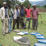 A system to make special cement  blocks to cover wells